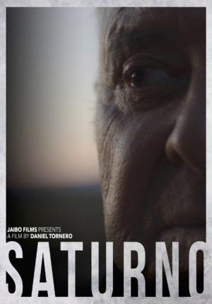 Portada:cartel Saturno - ENGLISH